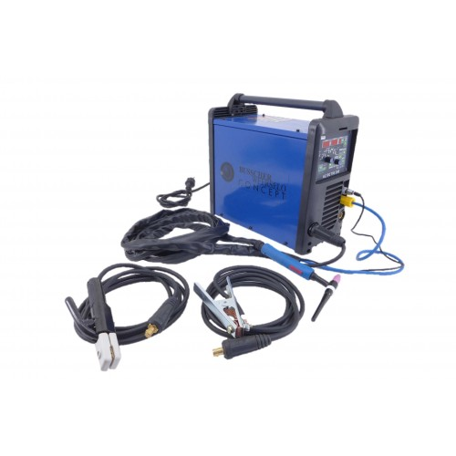 Inverter lasapparaat BWN Groot 200 AC/DC met Toorts