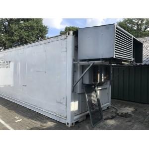 Koel-vriescontainer gebruikt 40ft wit