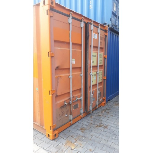 Container gebruikt oranje 20ft.