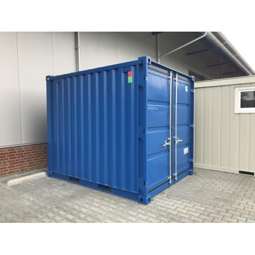 10 ft Container blauw nieuw