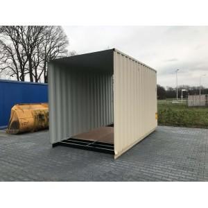 Containerdeel nieuw 2 kanten open