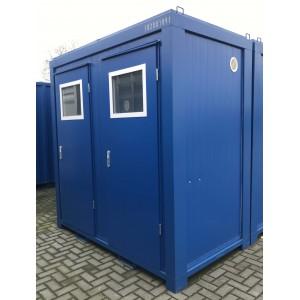Toiletcontainer 2 toiletten elk eigen deur