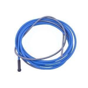 Draadgeleiderspiraal blauw 4m