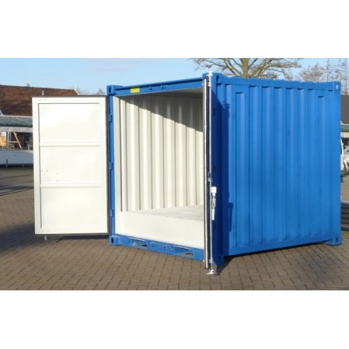 10 ft container met vloeistofvloer