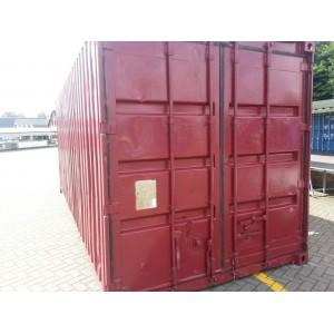Rode container 20 ft gebruikt