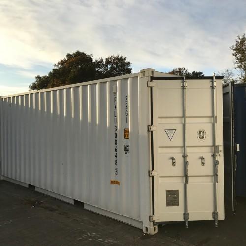 Zeecontainer 20 ft Dubbele Deuren