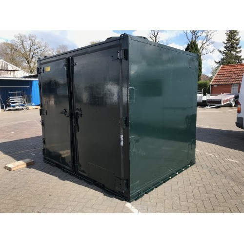 10 ft container groen gebruikt