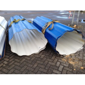 Stalen profiel plaat Golfplaten Staal Containerwand platen