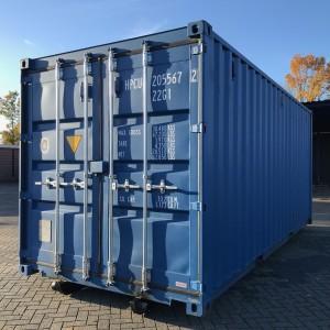 20 ft. container met slede voor kabelsysteem