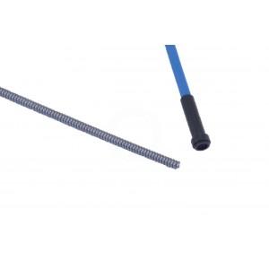 Draadgeleiderspiraal blauw 5m